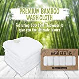 Baby Washcloth - Bamboo Washcloths Towel - Soft