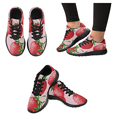 InterestPrint Womens Jogging Running Sneaker Lightweight Go Easy Walking Casual Comfort Sports Running Shoes Multi 32 3PUK7M6Fpt