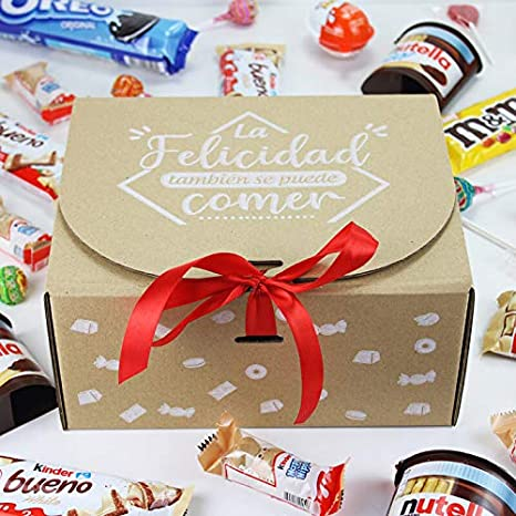 "Caja Regalo Chocolatinas ""Choco Maxi Plus Summer"": Amazon.es: Alimentación y bebidas"