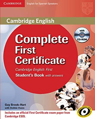 Complete First Certificate for Spanish Speakers Students Book ...