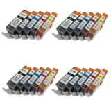 Ink4work 20 Pack Canon PGI-225, CLI-226 Compatible Ink Cartridge SET For Pixma iP4820/iP4920/iX6520/MG5120/MG5220/MG5320/MX712/MX882/MX892, Office Central