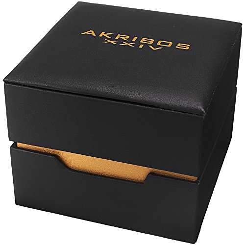 Akribos-XXIV-Mens-AK1034-Series-Italian-Designed-Blue-Dial-Stainless-Steel-Bracelet-Watch-Comes-in-a-Beautiful-Gift-Box