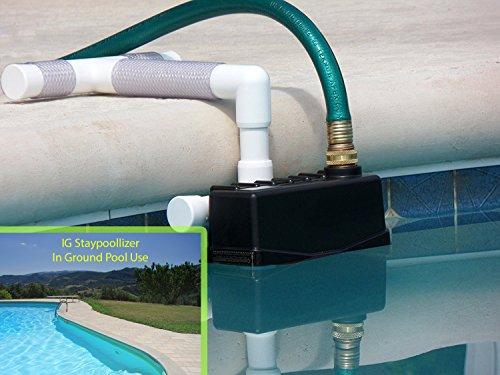 IG Staypoollizer Premium - In Ground Pool - Automatic Water Leveler by Staypoollizer