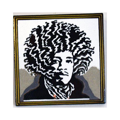 Jimi Hendrix Pin By John Van Hamersveld for Acme Studio