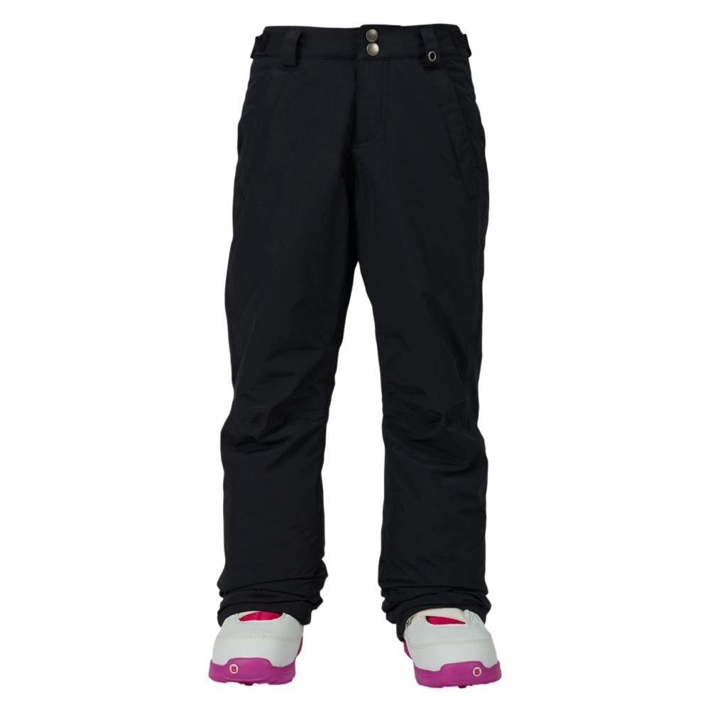 Burton Kids Girls Sweetart Snow Pants True Black Size Medium by Burton