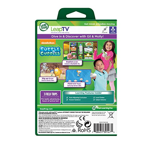 Review LeapFrog LeapTV Nickelodeon Bubble