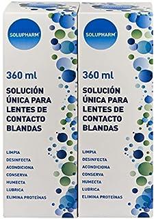 SOLUPHARM Solución Única para Lentes de Contacto Blandas 2 X 360 ml
