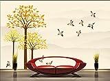 430cmX300cm 3D wallpaper/custom photo wall paper/Contracted forest birds/TV/sofa/Bedding/KTV/Hotel/living room/Children,G