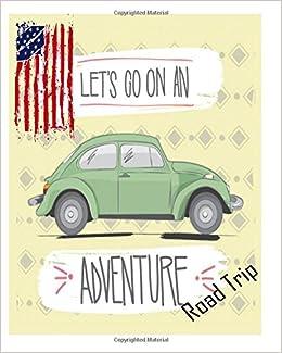 Car Trip Planner >> Road Trip Planner Diary Journal Road Trip Planner Vacation
