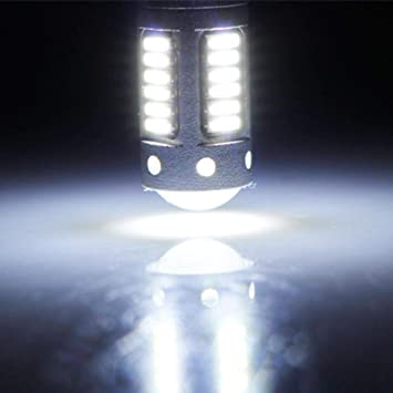 Amazon.com: Niome 2Pcs H1/H27(881) 30SMD 4014 LED Car Driving Fog Lights Replacement Head Bulbs DC 12V H27: Automotive
