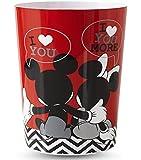 Disney Mickey & Minnie Mouse Wastebasket
