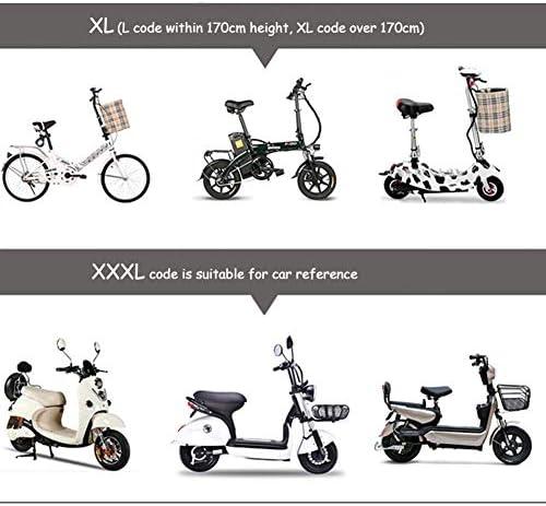 WANGCY Imperméable Adulte épaissi Simple, Poncho Transparent pour la Moto de Voiture électrique