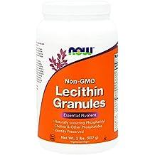 NOW Lecithin Granules (Non-GMO),2-Pound