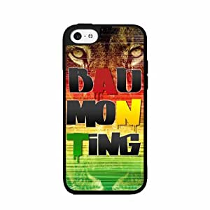 Badmon Ting Plastic Phone Case Back Cover iPhone 5 5s