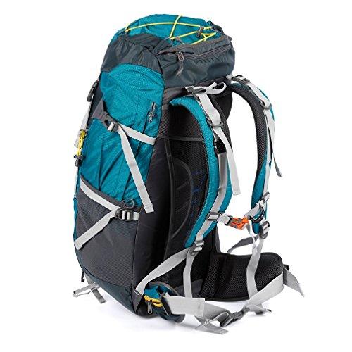 OUTAD 60+ 5L nylon impermeabile zaino sportivo campeggio e escursioni viaggi Pack alpinista arrampicata turistico escursione