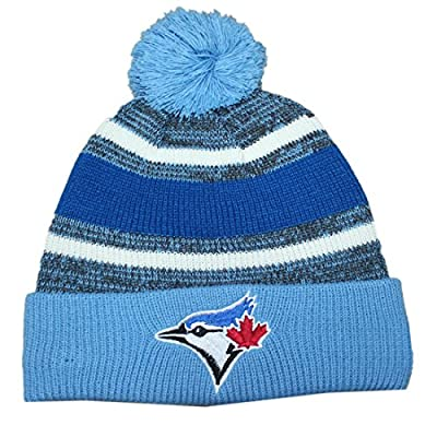 TOR Blue Jays Adult Winter Hat / Beanie with Removable Pom Pom