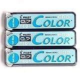 Pilot Color Mechanical Pencil Lead Eno, 0.7mm, Soft Blue, 10 Lead Ã-3 Pack/total 30 Leads (Japan Import) [Komainu-Dou Original Package]