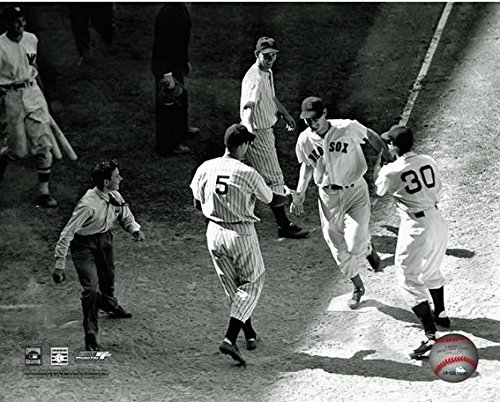 Ted Williams All Star Scoring 8x10 Photo