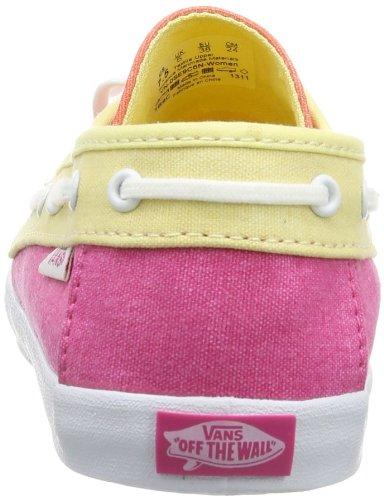 Vans W CHAUFFETTE  (TRI TONE) CORA - Zapatillas de lona mujer rosa - Pink ((Tri Tone) cora)