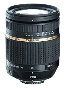 Tamron Auto Focus 18-270mm f/3.5-6.3 Di II VC LD Aspherical IF Macro Zoom Lens with Built in Motor for Nikon DSLR Cameras (Model B003NII) (Discontinued by Manufacturer)
