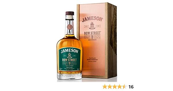 Jameson 18 Años Bow Street Malta Whisky - 700 ml: Amazon.es: Alimentación y bebidas