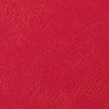GBC LeatherGrain Pack de 100 Plats de Couverture 250 g//m2 Bordeaux