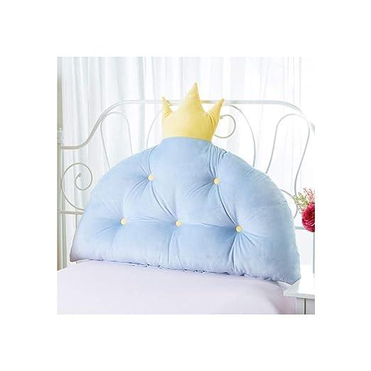 YXLZZO Crown Princess Almohada de Cama Suave Color sólido ...