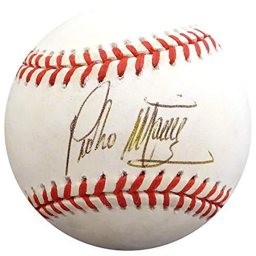 Autographed Pedro Martinez Baseball - Official AL Beckett BAS #H75118 - Beckett Authentication - Autographed Baseballs (Pedro Martinez Autographed Baseball)