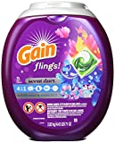 Gain Flings! Laundry Detergent Pacs, Wildflower & Waterfall, 70 Count