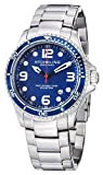Stuhrling Original Men's 593.332U16 Aquadiver Grand Regatta Swiss Quartz Diver Date Blue Watch by Stuhrling Original