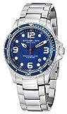 Stuhrling Original Men's 593.332U16 Aquadiver Grand Regatta Swiss Quartz Diver Date Blue Watch by Stuhrling Original