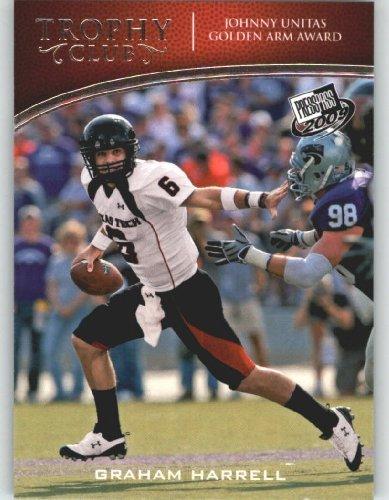 2009 Press Pass Football Card #54 Graham Harrell QB - Trophy Club - Texas Tech - NFL Trading Card