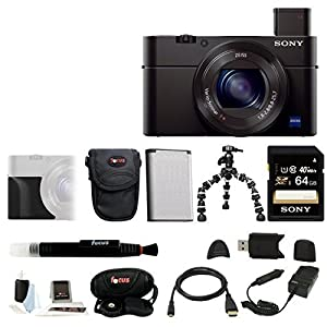 Sony DSC-RX100M III Cyber-shot Digital Still Camera