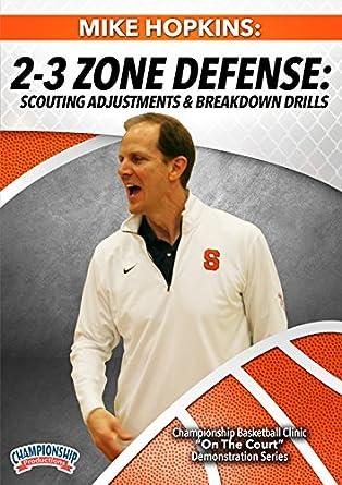 Amazon Com Mike Hopkins 2 3 Zone Defense Scouting
