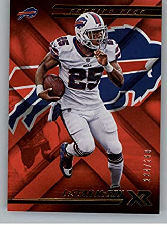 new style 10e17 eda3f Amazon.com: 2018 Panini Xr Red Football #1 LeSean McCoy SER ...
