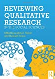 Qualitative Methods in the Social and Behavioral Sciences, , 041589350X