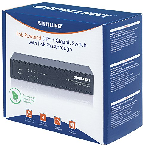 Intellinet 561082 5 Port Gigabit PoE Switch by Intellinet (Image #2)