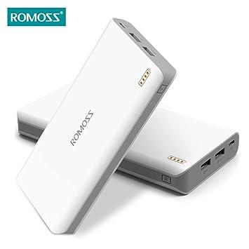 Romoss Sense 6 20000mAh Cargador portátil Batería externa Power Bank Carga rápida para iPhone iPad Samsung HTC Motorola Nokia Nexus Teléfonos móviles con ...