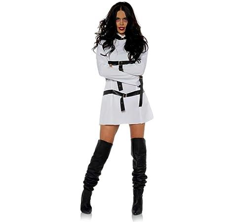 Horror-Shop Traje De Camisa De Fuerza para Damas con Hebillas S: Amazon.es: Juguetes y juegos
