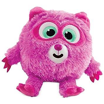 Zigamazoos - Mapache Rosa Ojos Bordados