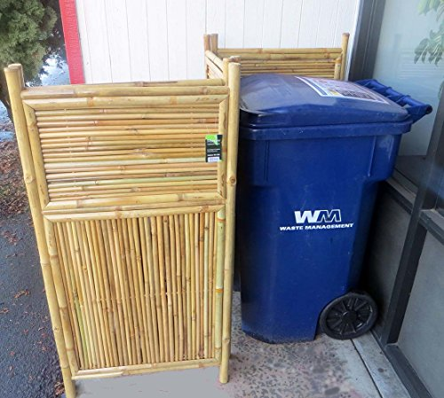 Master garden products 4 panel bamboo screen enclosure 24 for Master garden products