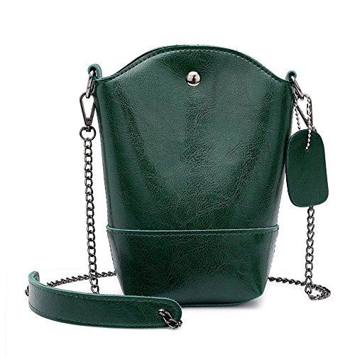 Bolsos de Mujer, Bolso Bandolera Lona Tote Shopper Bolsa de ocio Bolsos bandolera Bolsos para mujer mochila totes Shoppers y bolsos de hombro Verde