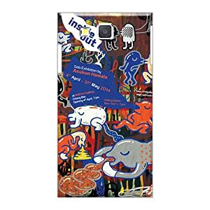 Protective Hard Cell-phone Cases For Samsung Galaxy A3 (ymY13851FVvd) Support Personal Customs Stylish Inside Out Pattern