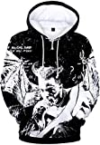Bettydom Unisex Hoodies Rapper RIP Xxxtentacion Hip Hop Pullover 3D Printed Long Sleeve Sweatshirt