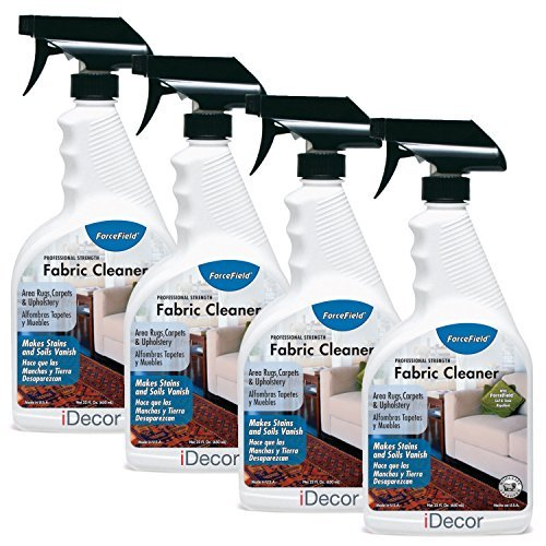 ForceField Fabric Cleaner - set of 4 cleaners - 22oz each (Fabric Cleaner Forcefield)
