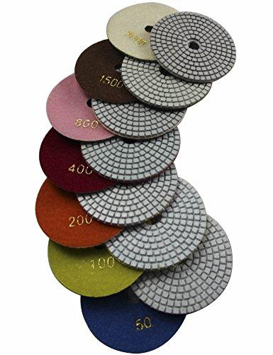 diamond polishing pads set - 3