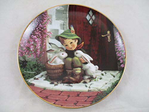 M I Hummel Danbury Mint Playmates Gentle Friends Collectors Plate