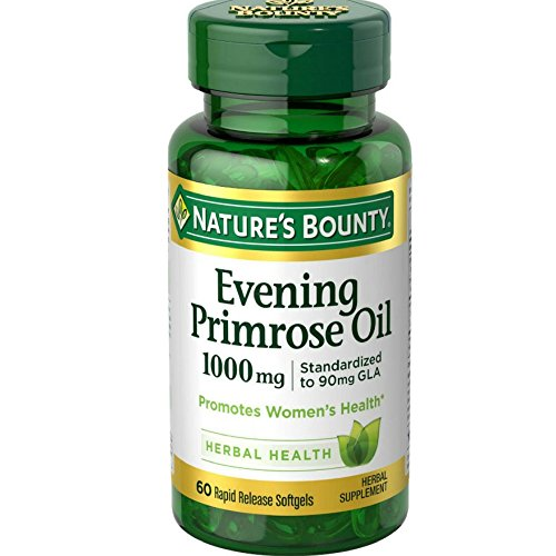 Nature's Bounty Evening Primrose Oil 1000 mg Softgels 60 ea (Pack of 12) by Nature's Bounty