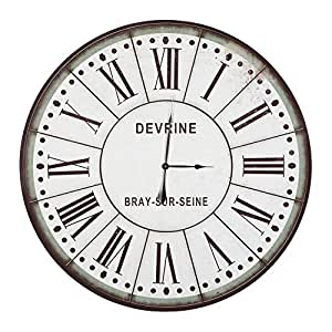 yosemite home decor clkb1404172 circular wall clock 48 home kitchen. Black Bedroom Furniture Sets. Home Design Ideas