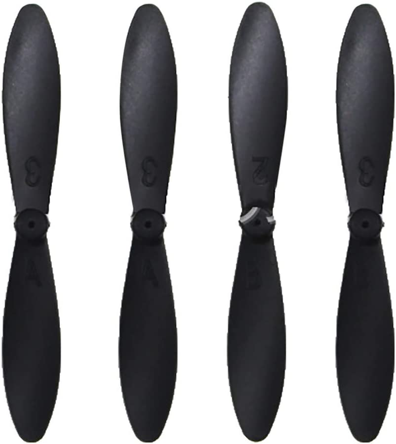 2020 Upgrade Quick Release Blades Compatible with D2// LF606// G1// S15 Mini RC Drone Quadcopter Drone CW CCW RC Vehicle Foldable Propellers Props Alecony 4 Pcs Low Noise Propellers